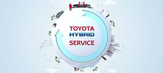 Ihr ganz persönlicher Toyota Hybrid Service Check