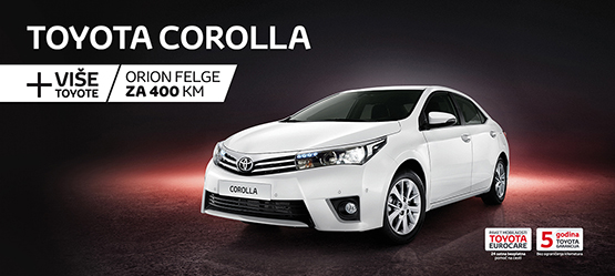 Toyota Corolla > + Više Toyote
