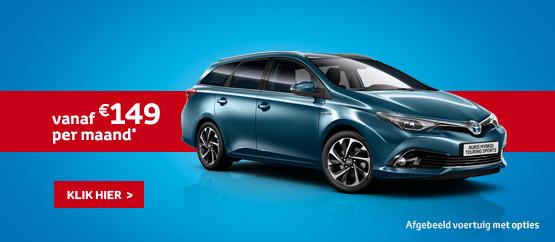 Nieuwe Auris Touring Sports Hybride 1.8 VVT-i Dynamic