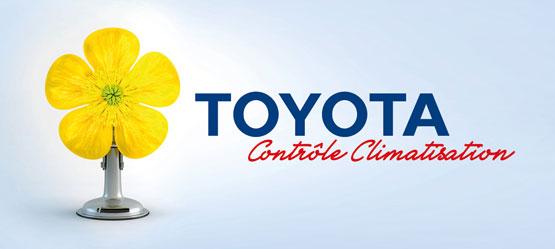Contrôle Climatisation Toyota