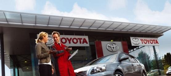 Prohlídka ojetého vozu Toyota ZDARMA
