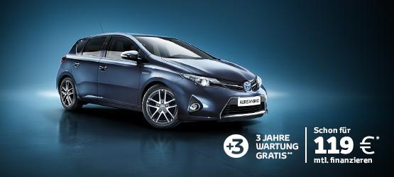 Der neue Auris Hybrid Edition