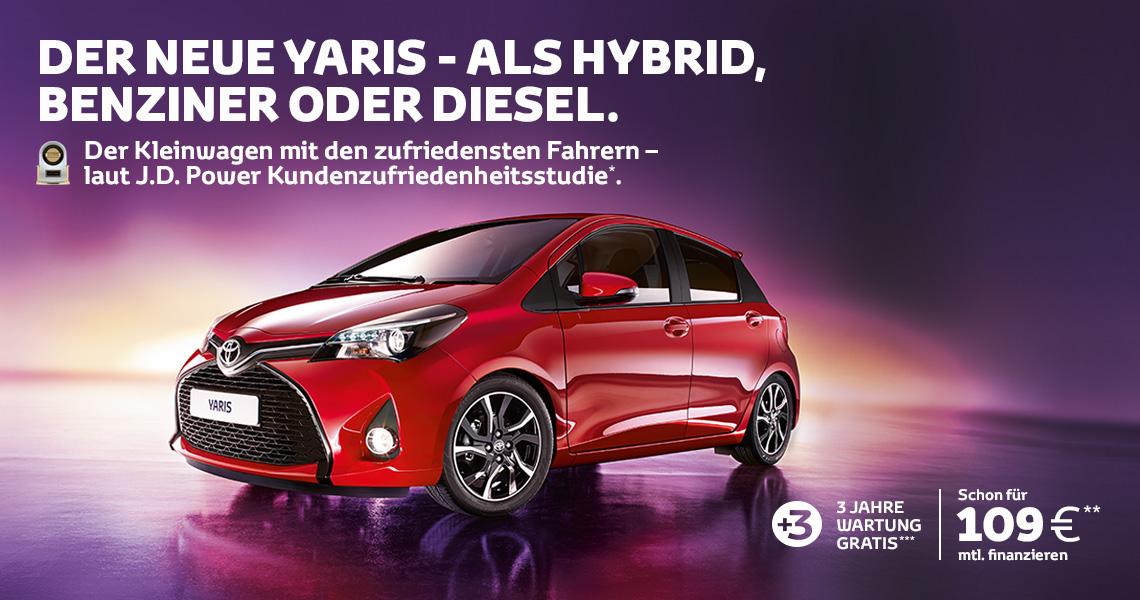 Der Yaris Hybrid Comfort
