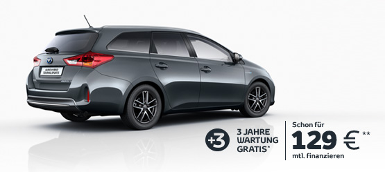 Der Auris Touring Sports Hybrid Edition