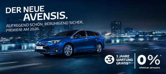 Der neue Avensis.