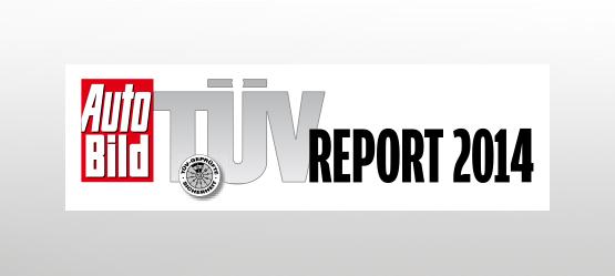 Bestnoten beim TÜV-Report 2014