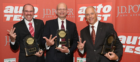 Drei Klassensiege für Toyota beim J.D. Power Report 2013