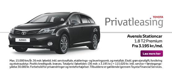 Avensis Stationcar 1.8 T2 Premium