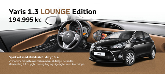 Yaris 1.3 LOUNGE Edition