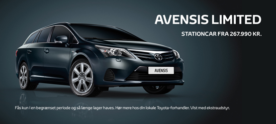 Avensis 1.6 Limited