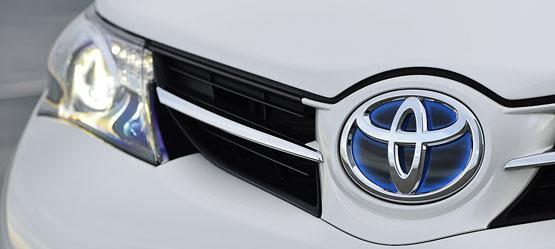 Toyota har de mest tilfredse bilkunder