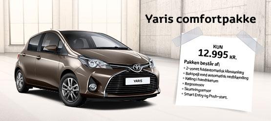 Yaris Comfortpakke