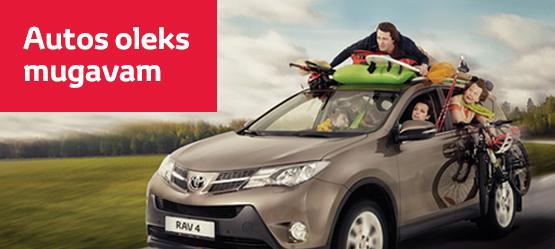 Toyota reisivarustus