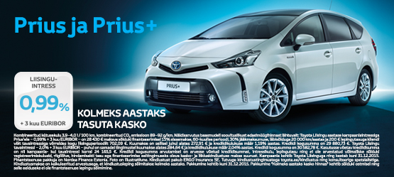 Toyota Prius eripakkumine