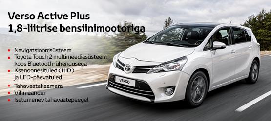 Toyota Verso eripakkumine