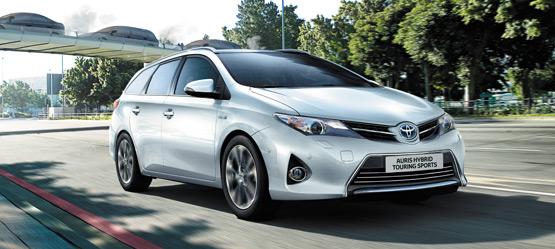 Toyota Auris Touring Sports y Auris hybrid Touring Sports