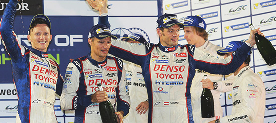 TOYOTA Racing Takes Five And A Title