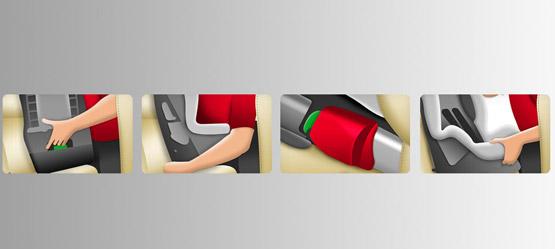 Toyota ISOFIX Duo Plus child seat