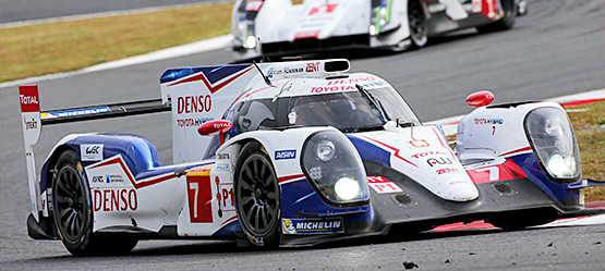 Home Comforts for TOYOTA Racing at Fuji