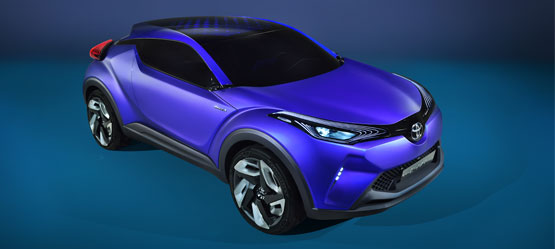 Toyota at Paris Motor Show 2014