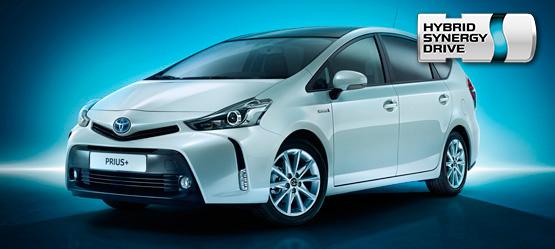 Toyota Prius+ lisävaruste-esite