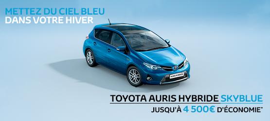 Toyota Auris Hybride Skyblue Suréquipée