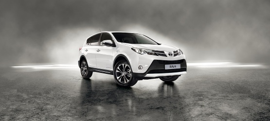 Toyota RAV4 White Edition
