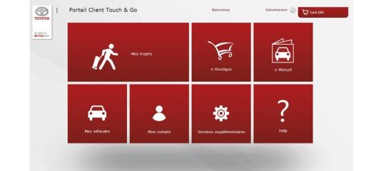 Compte Client Touch 2