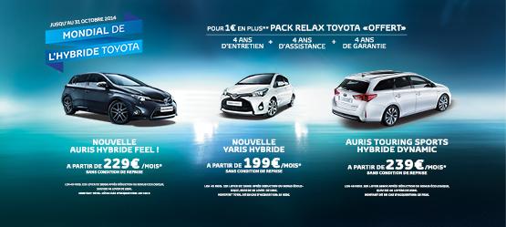 Mondial de l'Hybride Toyota