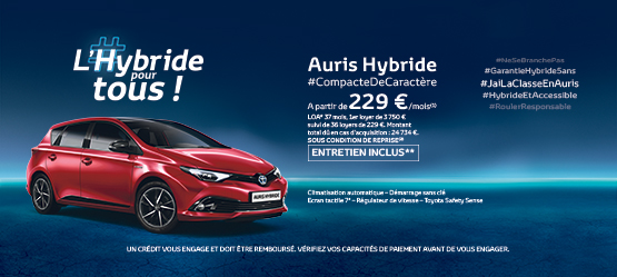 Toyota Auris Feel! Hybride