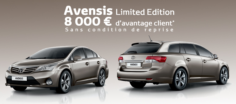 Toyota Avensis Limited Edition