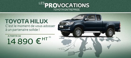Toyota Hilux entreprise