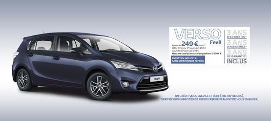 Toyota Verso Feel!