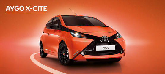 AYGO X-cite  with Nil advance payment (Motability Users Only).