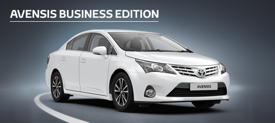 Avensis Icon Business Edition Saloon 4.9% APR Representative*