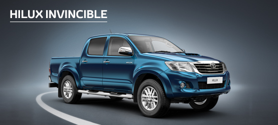 Hilux Invincible from £249 + VAT per month† (Contract Hire)