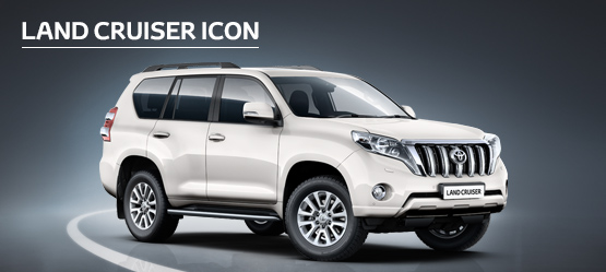 Land Cruiser Icon from £523 + VAT per month† (Contract Hire)