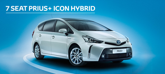 Prius + Icon Hybrid 4.9% APR Representative*