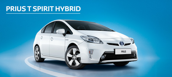 Prius T-Spirit Hybrid from £233 + VAT per month† (Contract Hire)