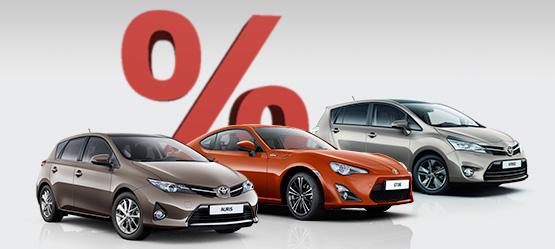 Egyedi Toyota készletajánlatok