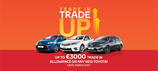 Toyota Trade in Trade up Allowance