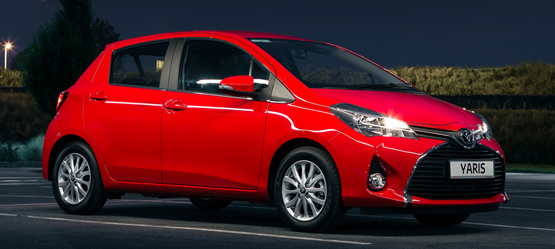 Upgrade to Yaris Luna for an extra €505 or €5 per month*