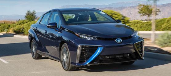 Toyota entra nel futuro con il lancio di 'Mirai', la nuova berlina equipaggiata con celle a combustibile