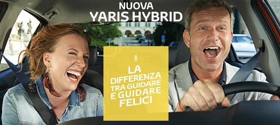 Nuova Yaris Hybrid - La differenza tra guidare e guidare felici