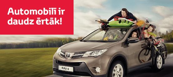 Toyota kelionių aksesuarai