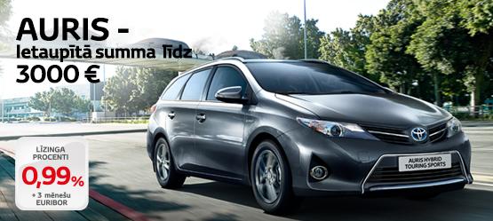 Lielisks piedāvājums Toyota Auris