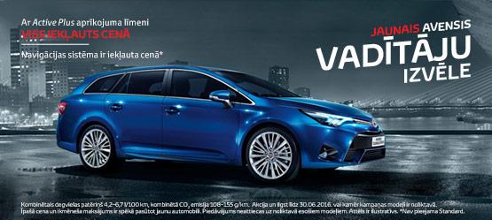 Vadītāju izvēle - Toyota Avensis!