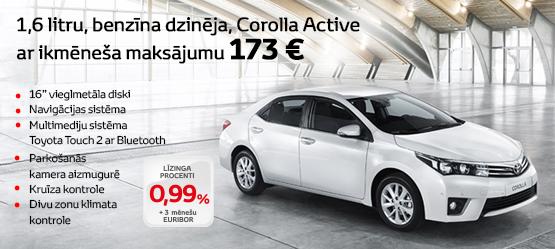 Akcija Toyota Corolla