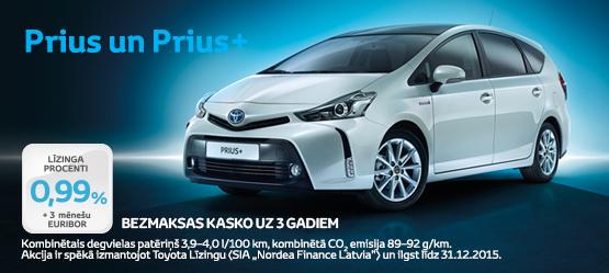 Piedāvājums Toyota hibrīdiem