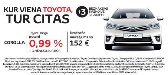 Kur viena Toyota, tur citas
